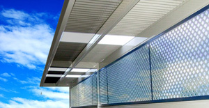 Aluminium Lattice At Eze Security
